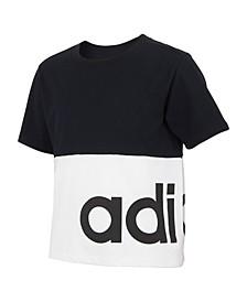 Big Girls Short Sleeve Blocked T-shirt