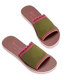 Women's Festival Flat Slide Sandals
