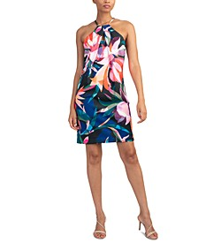 Sizma Printed Halter Dress