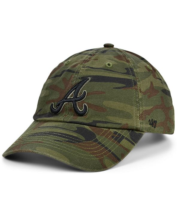 '47 Brand Atlanta Braves Regiment CLEAN UP Cap