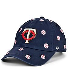 Minnesota Twins Women's Confetti Adjustable Cap