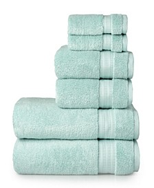 6 Piece Bamboo Towel Set