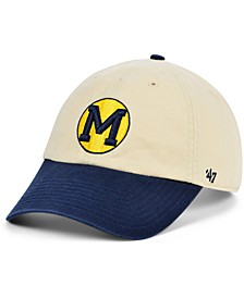 Michigan Wolverines Vault 2 Tone Clean Up Cap