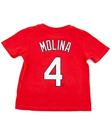 Toddler St. Louis Cardinals Name and Number Player T-Shirt Yadier Molina