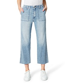 The Blake High Rise Wide Leg Crop Jeans