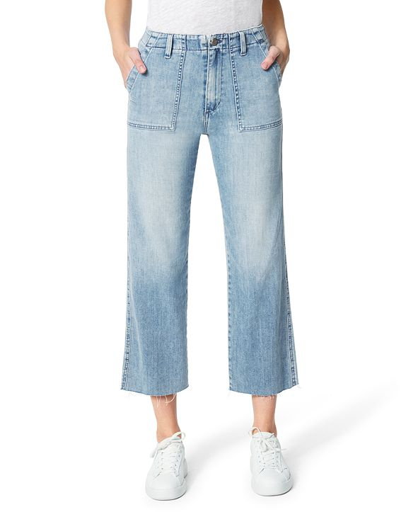 Joe's Jeans The Blake High Rise Wide Leg Crop Jeans