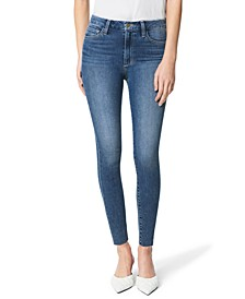 Hi Honey Cut-Hem Skinny Ankle Jeans