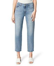 The Scout Mid-Rise Slim Tomboy Crop Jeans