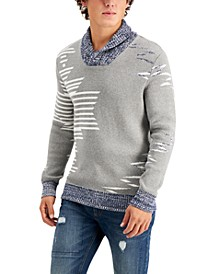 Men's Native Shawl Sweater, Created for Macy's