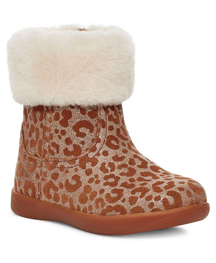 UGG® - Toddler Jorie Glitter Leopard Booties