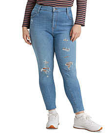 Levi's® Trendy Plus Size 720 High-Rise Super Skinny Jeans