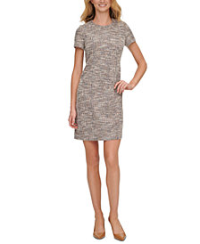 Calvin Klein Ponte Shift Dress