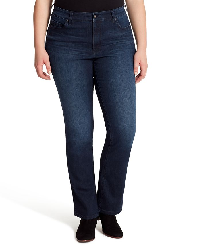 Jessica Simpson - Trendy Plus Size Truly Yours Bootcut Jeans