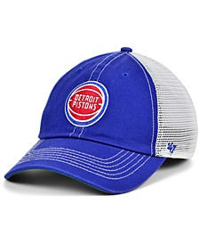 Detroit Pistons Trawler Mesh Clean Up Cap