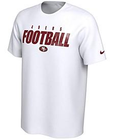 San Francisco 49ers Men's Dri-Fit Cotton Football All T-Shirt