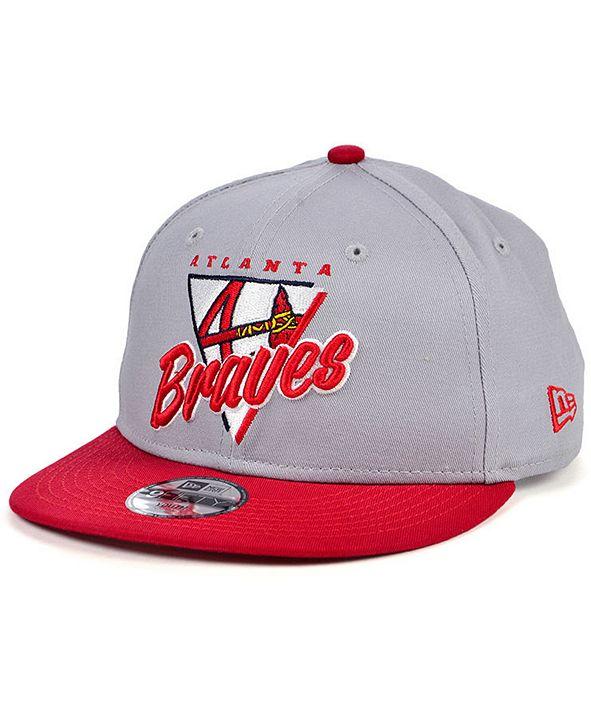 New Era Atlanta Braves Lil Away Game 9FIFTY Cap