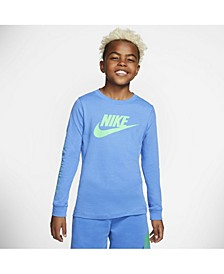Sportswear Big Boys Futura Long Sleeves Tee