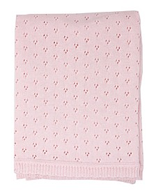 Baby Boys and Girls Pointelle Layette Blanket