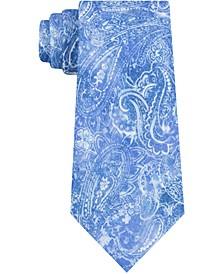 Men's Skinny Painterly Paisley Tie
