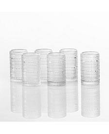 Jupiter Ice Beverage Glasses, Set of 6