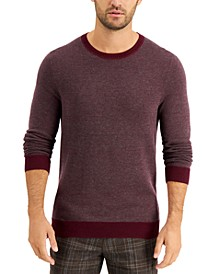 Men's Crewneck Sweater, Created for Macy's