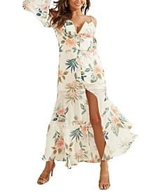 Lana Cold-Shoulder Maxi Dress