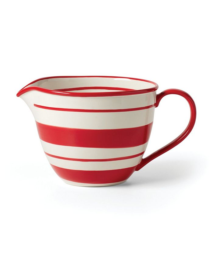 Lenox - Holiday Handpaint Stripe Batter Bowl