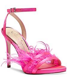 Raelin Feather Sandals