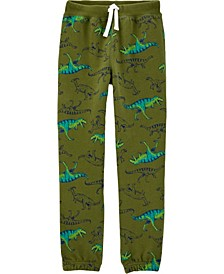 Little Boys Pull-On Fleece Pants