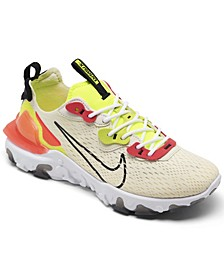 Women's React Vision Running Sneakers from Finish Line