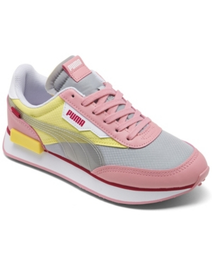 PUMA GIRLS FUTURE RIDER PLAY ON CASUAL SNEAKERS FROM FINISH LINE