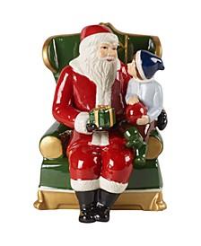 CLOSEOUT! Christmas Toys Santa on armchair Musical