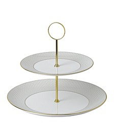 Arris Two-Tier Cake Stand