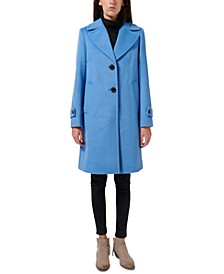 Single-Breasted Walker Coat, Created for Macy's
