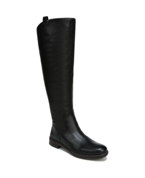 Vintage Boots, Retro Boots Franco Sarto Meyer Wide Calf High Shaft Boots Womens Shoes $119.40 AT vintagedancer.com
