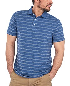 Men's Blyth Stripe Cotton Polo