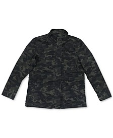 Cotton Camo-Print Utility Jacket, Created for Macy's