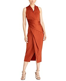 Brett Midi Wrap Dress