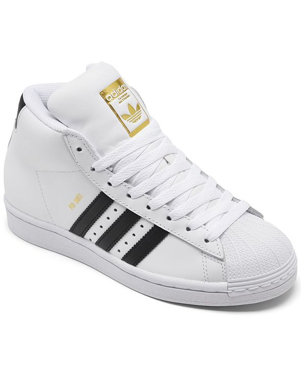 adidas Kids Pro Model High Top Casual Sneakers from Finish Line