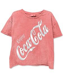 Juniors' Coca-Cola Graphic T-Shirt