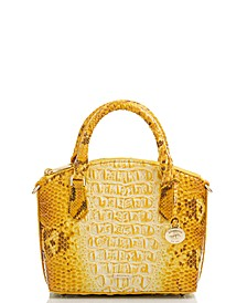 Duxie Ombre Melbourne Embossed Leather Crossbody