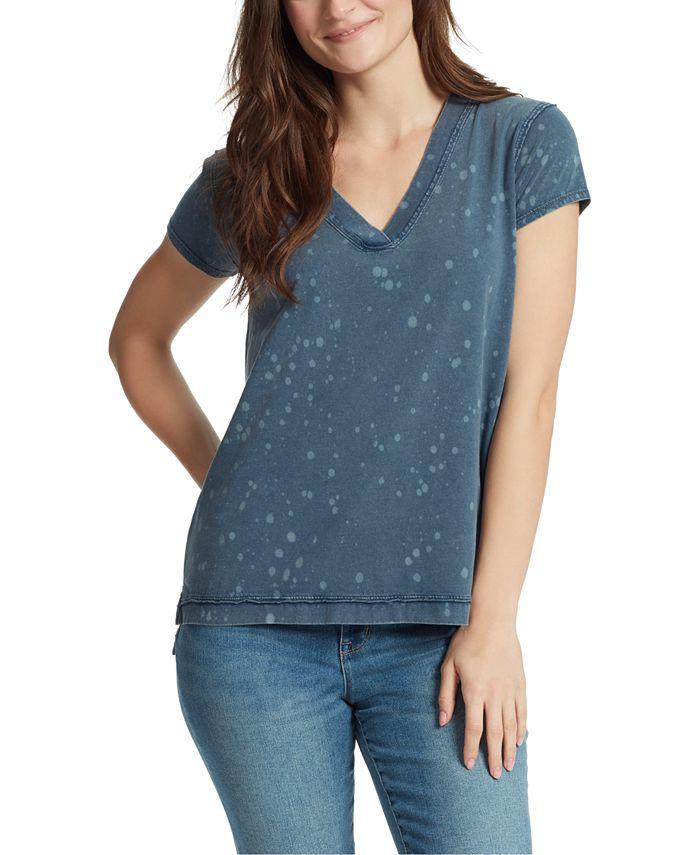 WILLIAM RAST - Splatter Cotton T-Shirt