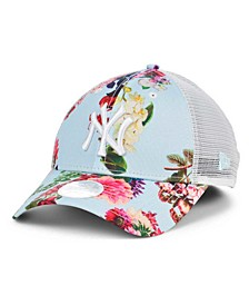 New York Yankees Women's Floral 9FORTY Cap