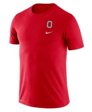 Nike Ohio State Buckeyes Men's Dri-Fit Cotton Dna T-Shirt