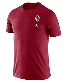 Nike Oklahoma Sooners Men's Dri-Fit Cotton DNA T-Shirt