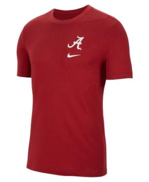Nike Alabama Crimson Tide Men's Dri-Fit Cotton Dna T-Shirt