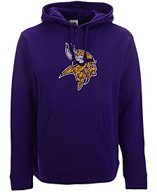 Minnesota Vikings Men's Distressed Logo Hoodie