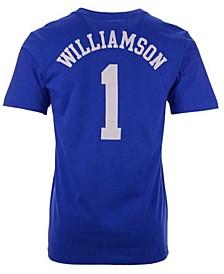 Duke Blue Devils Men's Basketball Jersey T-Shirt Zion Williamson