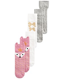 Baby Girls 3-Pack Town & Country Socks, Created for Macy's