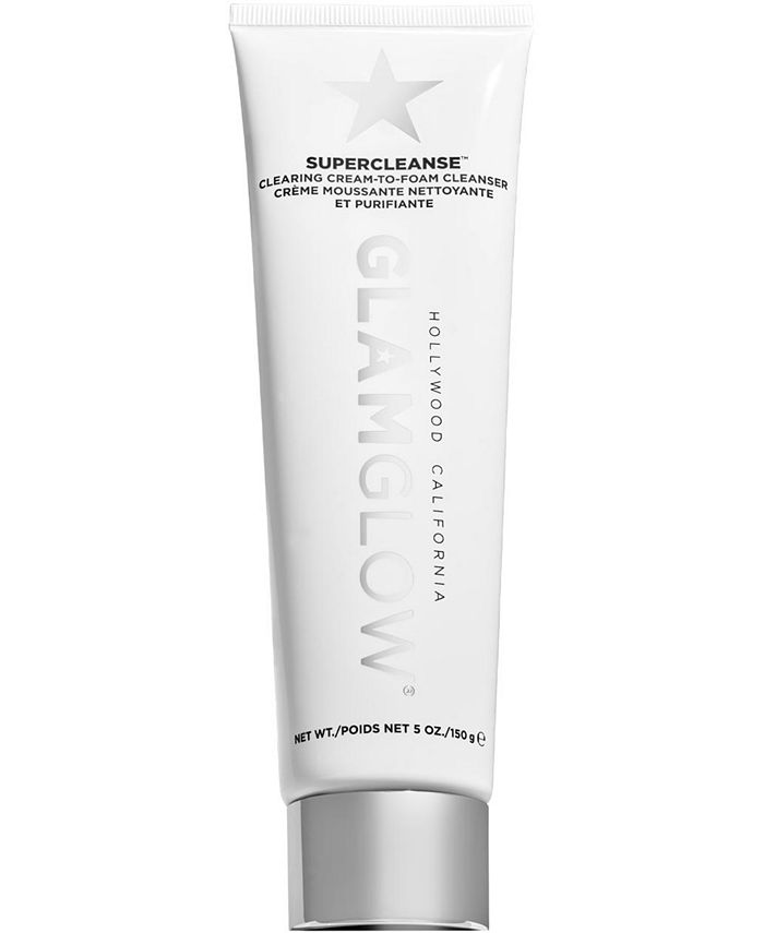 GLAMGLOW - Supercleanse Clearing Cream-To-Foam Cleanser, 5-oz.